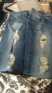 LADIES JEANS SILVERS,GUESS, WAREHOUSE ONE, BLUENOTES, AM EAGLE