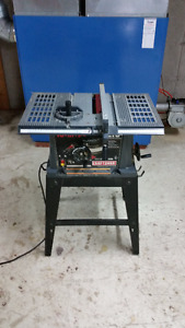 """Small 10"""" table saw (Craftsman)"""