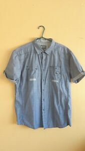 7 men`s size 2X shirts,  LIKE NEW, 15$ for all, GREAT DEAL
