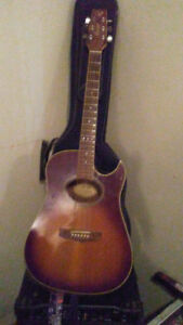 Vantage Electric Acoustic, asking $150 OBO(make an offer)