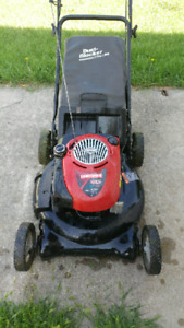 Craftsman 6.5hp lawnmower with bag