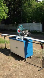 Sliding Marita Mitre Saw and Cabinet