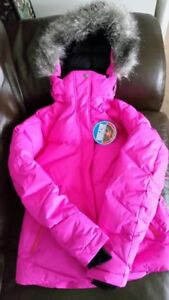 Down-Filled Columbia Jacket