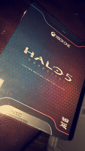 Halo 5 Limited Edition Game Unopened Cambridge Kitchener Area image 1