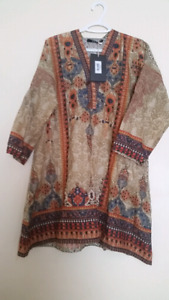 Khaadi kurta top shirt sz 12 new with tag