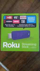 ROKU Streaming Stick with Remote control