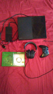 Xbox one games, headset, and controller