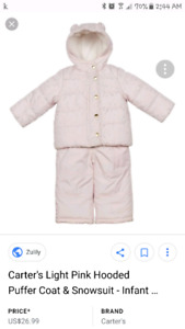 Free Carters Brand snowsuit