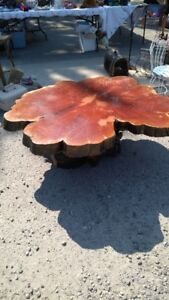 California Sequoia Redwood  Table