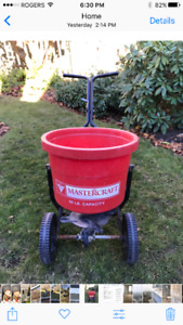 Mastercraft Lawn Spreader