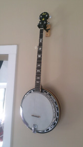 Iida 5 String Resonator Banjo