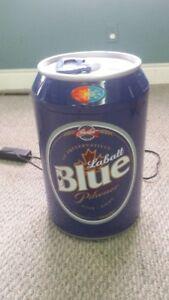 Labatt Blue Beer can fridge