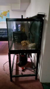 Full aquarium set up for sale fish tank 100 gallon