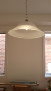 Light fixture / over dining table / chandelier (brand new)