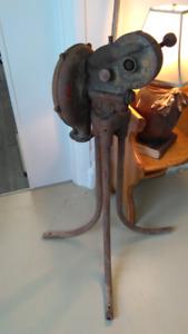 Soufflet de forge année 1900