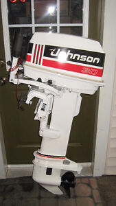 30hp Johnson Outboard Long Shaft (YEAR 1991)