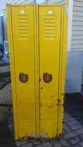6ft tall lockers great for storage