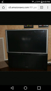 Huge projection tv