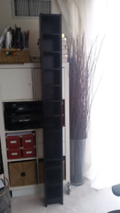 Ikea CD/DVD Tower - Black