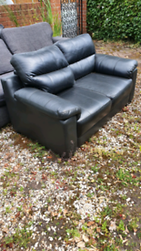 FREE FREE FREE. 3 COUCHES HELP YOURSELF. 2 REAL LEATHER