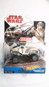 HOT WHEELS STAR WARS REY ALL TERRAIN CHARACTER CARS DIECAST