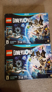 Selling lego dimensions for wii u sealed
