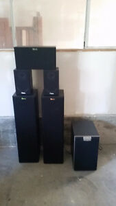 Full Surround Sound Speaker Set