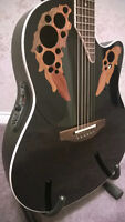 Ovation USA Acoustic Electric Deep Bowl - RARE Collector's item