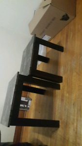 End tables for sale. Need gone asap.