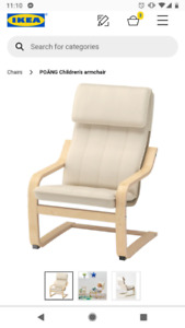 Looking to buy Ikea Chair at up to $40 - please drop off