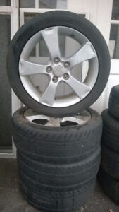 Mazda 3 Mags and tires