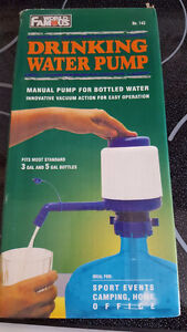 Drinking water pump