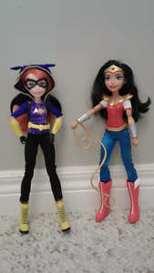 Wonder woman and Batwoman