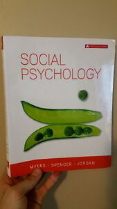Social Psychology 6th Canadian Edition Kitchener / Waterloo Kitchener Area image 1