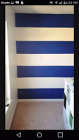 Any 3 bedrooms painted for 249$ if you provide the paint