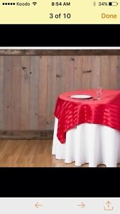 NICE CHAIR COVER,*TABLECLOTH,*BACKDROP* London Ontario image 8