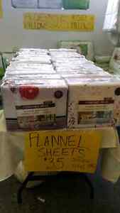 FLANNEL SHEET SETS AT A FRACTION OF THE COST! ! Kitchener / Waterloo Kitchener Area image 2