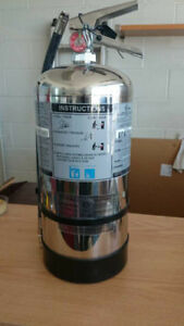 Grease FirExtinguisher-K Class,6L,Chrome Container,used,untagged