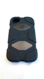 Heavy Duty Case for IPhone 4, 4s (Black)