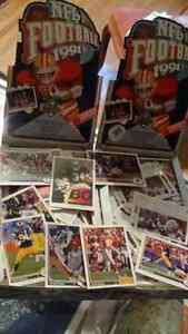Thousands of assorted SPORTS cards...