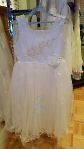 Brand new communion and flower girl dress size 8
