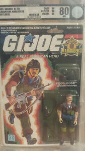 GI - JOES AFA GRADED