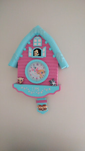 Littlest pet shop wall tic toc clock