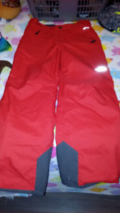Girls Size Large North Face Snow Pants