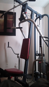 Home gym, 400$,willing to trade