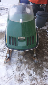 1976 Skiroule Sonar 300 Kohler twin Project snowmobile