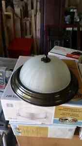 2 lamp fixtures  Cambridge Kitchener Area image 1