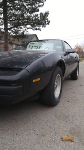 1987 PONTIAC FIREBIRD FOR SALE FIRST $1250.00 takes it