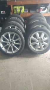 Lexus CT200 Winter tires and IS250 rims