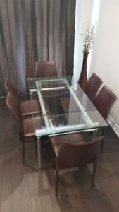 Dining set (table + 6 chairs)